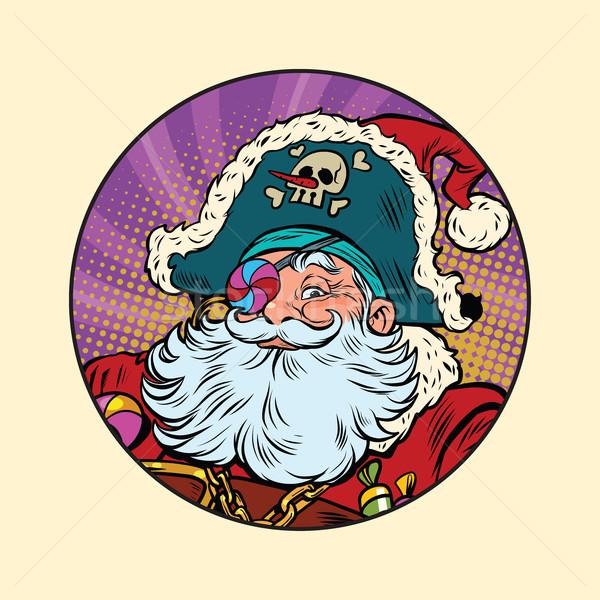 Santa Claus pirate Stock photo © rogistok