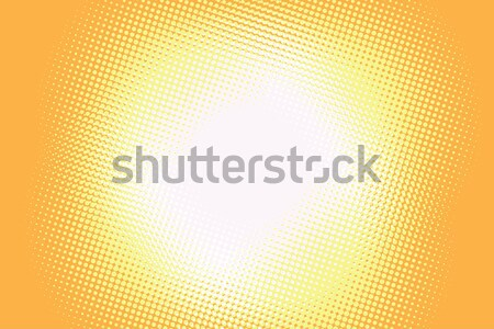 Yellow background light retro comic Stock photo © rogistok