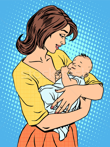 матери ребенка семьи любви детей Сток-фото © rogistok