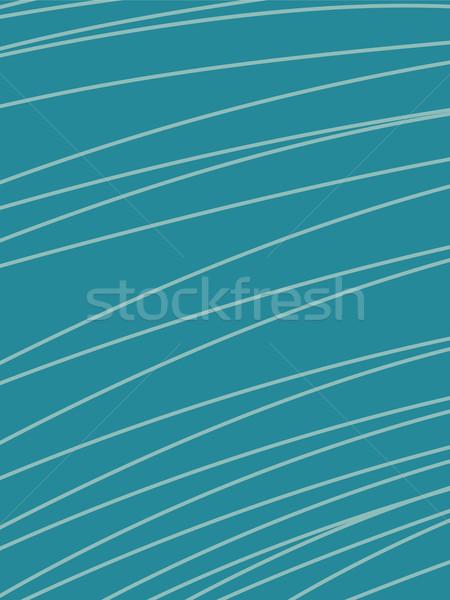Vettore abstract retro stile moderno turchese Foto d'archivio © rogistok