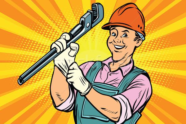 ремонта инструментом Cartoon Сток-фото © rogistok