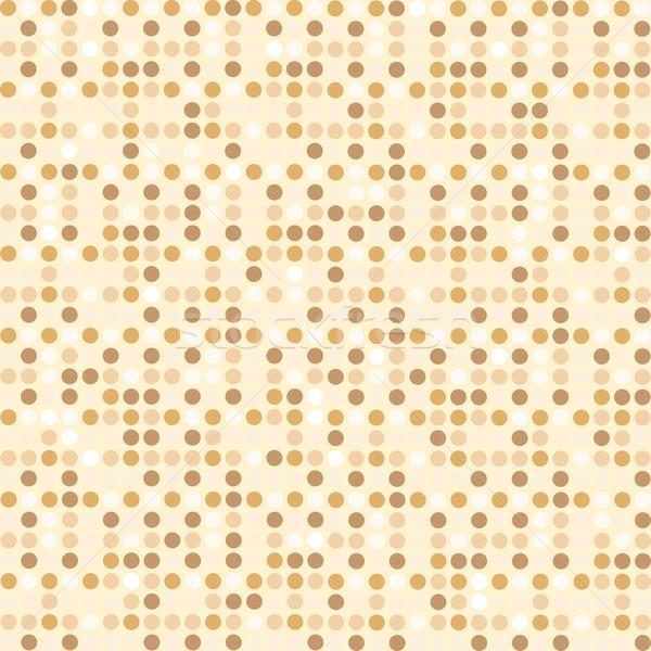 Digital point light brown seamless background pattern Stock photo © rogistok