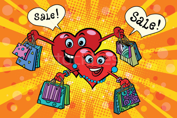 Holiday sales on Valentines day Stock photo © rogistok