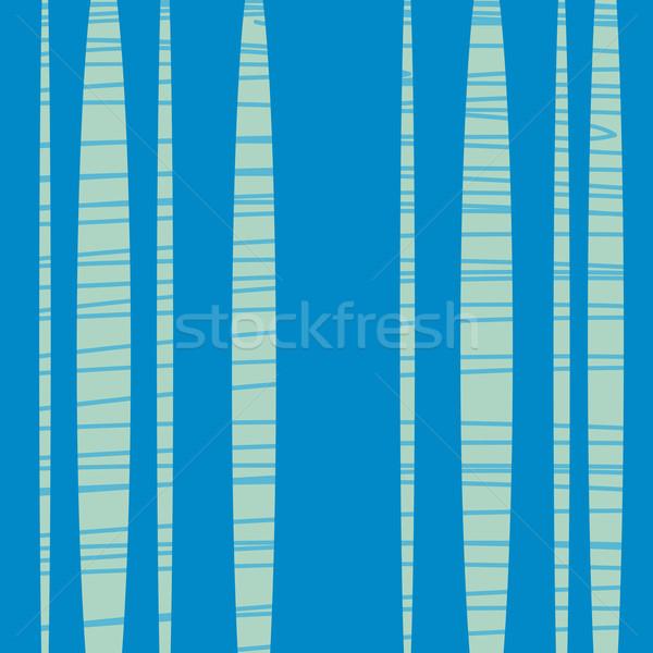 Azul retro abstrato vetor mar Foto stock © rogistok