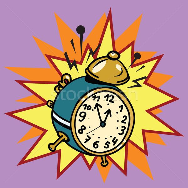 The alarm clock rings, time Stock photo © rogistok