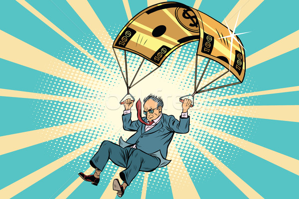 senior citizen Golden parachute financial compensation in the bu Stock photo © rogistok