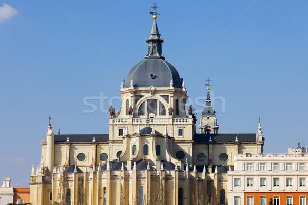 Basilica San Francisco el Grande in Madrid Stock photo © rognar