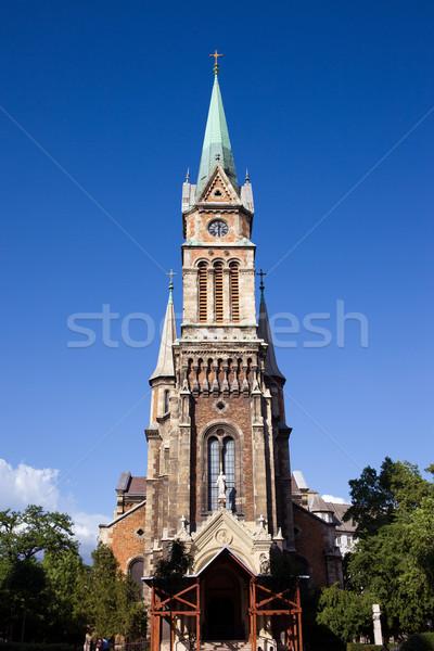 Church of Ferencvaros in Budapest Stock photo © rognar