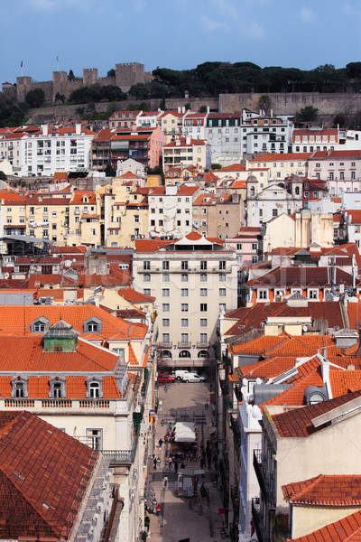 Old City of Lisbon in Portugal Stock photo © rognar