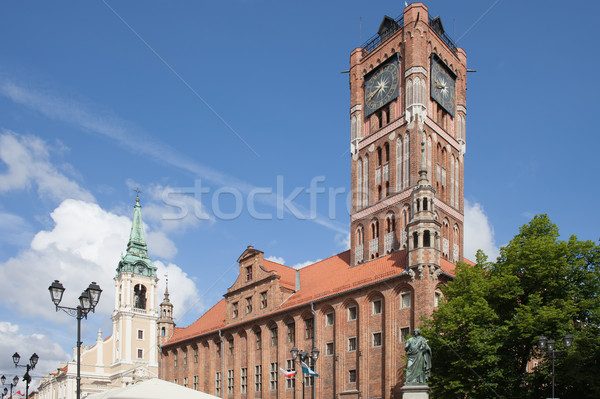 Old City Town Hall in Torun Stock photo © rognar