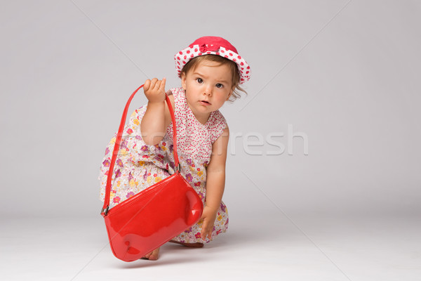 Baby Fashion Model Posing Stock photo © rognar