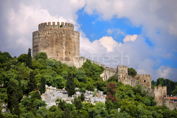 Rumelihisari Castle in Istanbul Stock photo © rognar