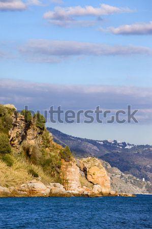 Coastline of the Mediterranean Sea in Spain Stock photo © rognar