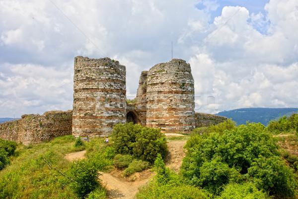 Yoros Castle Stock photo © rognar