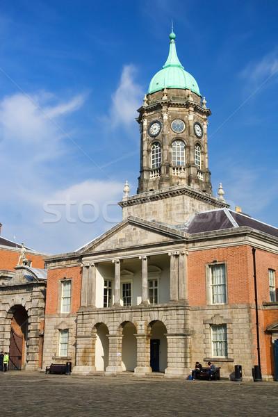 Clocktower in Dublin Castle Stock photo © rognar