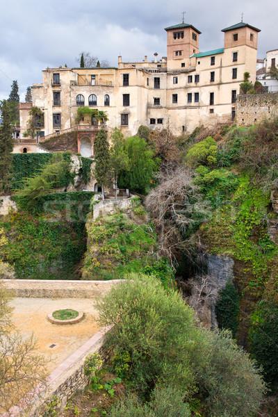 La Casa del Rey Moro in Ronda Stock photo © rognar
