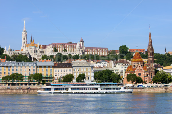Budapest Cityscape Stock photo © rognar