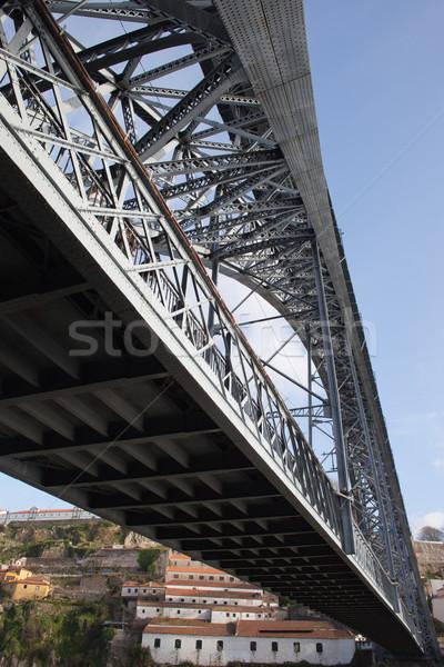 Dom Luis I Bridge in Porto Stock photo © rognar