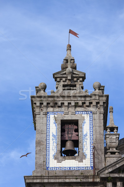 Church of Saint Ildefonso Bell Tower in Porto Stock photo © rognar