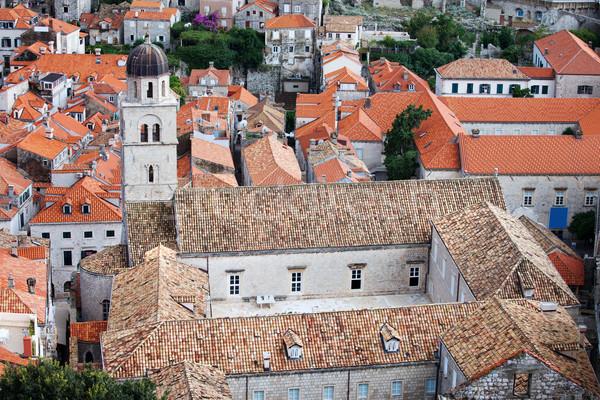 Mosteiro dubrovnik velho cidade Croácia urbano Foto stock © rognar