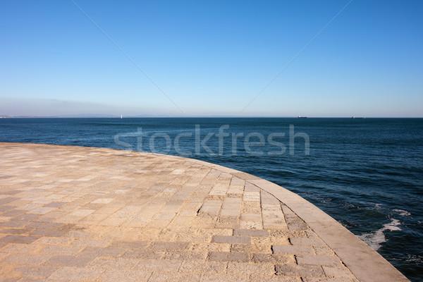 Mar passeio público céu água verão Foto stock © rognar