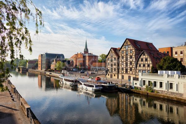 City of Bydgoszcz in Poland Stock photo © rognar