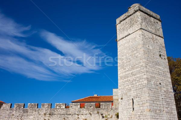 Zadar Fortifications Stock photo © rognar