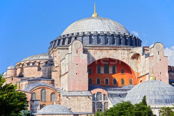 Tájékozódási pont építészet templom szent bölcsesség török Stock fotó © rognar