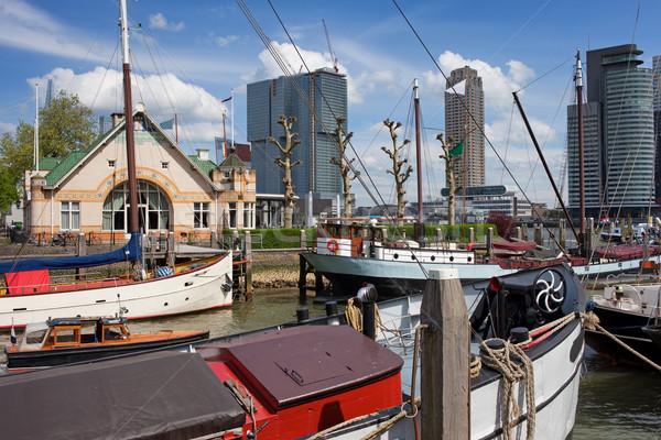 Rotterdam Cityscape Stock photo © rognar