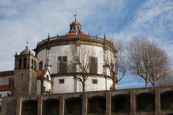 Serra do Pilar Monastery in Vila Nova de Gaia Stock photo © rognar