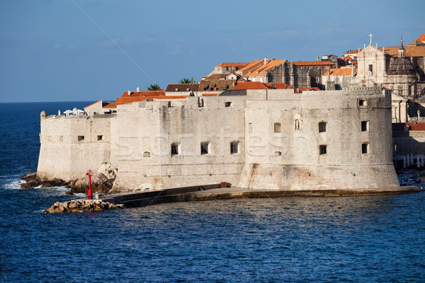 Dubrovnik Old City Fortification Stock photo © rognar