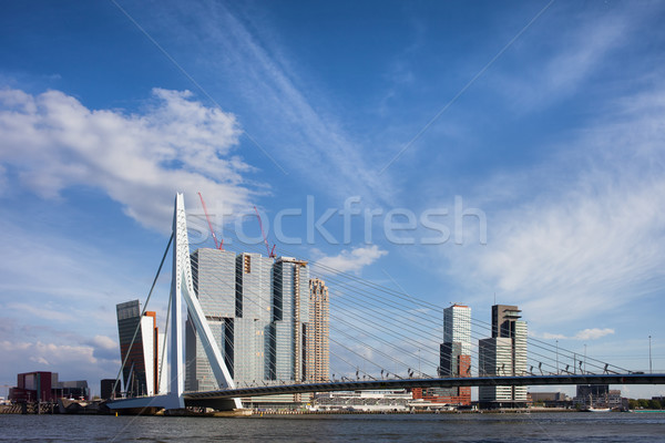 City of Rotterdam Downtown Skyline Stock photo © rognar