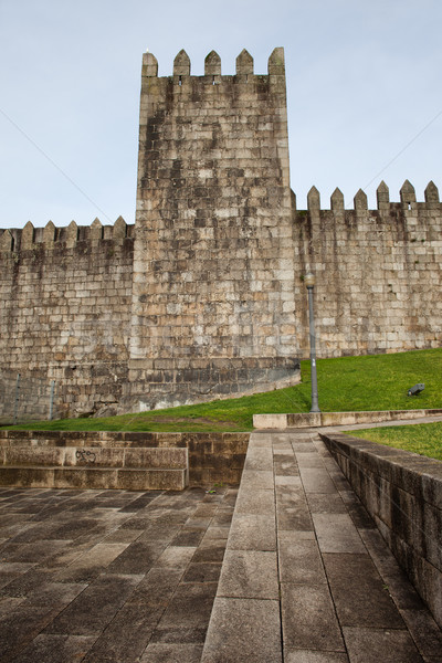 Fernandina Wall City Fortification in Porto Stock photo © rognar