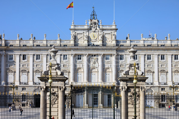 ロイヤル 宮殿 マドリード スペイン語 本当の 歴史的 ストックフォト © rognar