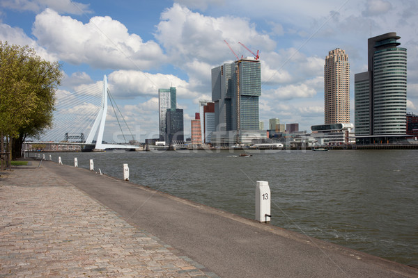 Stock photo: City of Rotterdam Downtown