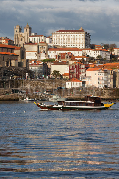 City of Porto Skyline from the River Douro Stock photo © rognar