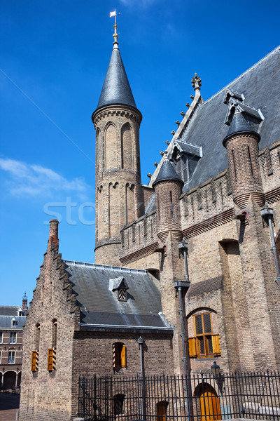 Ridderzaal of the Binnenhof in Den Haag Stock photo © rognar