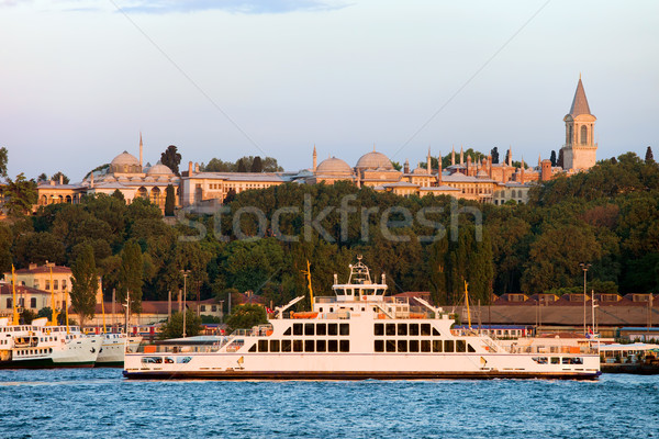 Topkapi Palace in Istanbul Stock photo © rognar