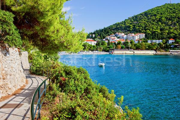 Férias dubrovnik mar férias de verão cenário Foto stock © rognar