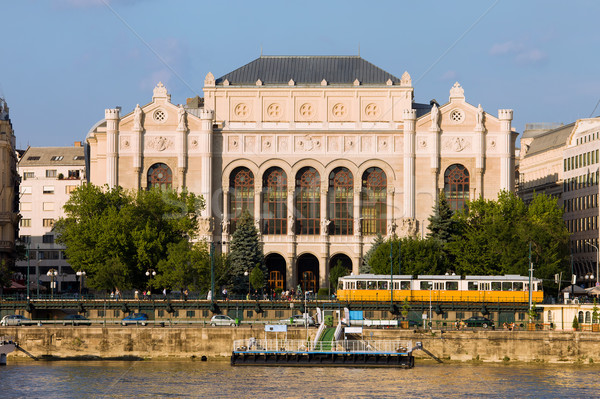 Vigado Concert Hall in Budapest Stock photo © rognar