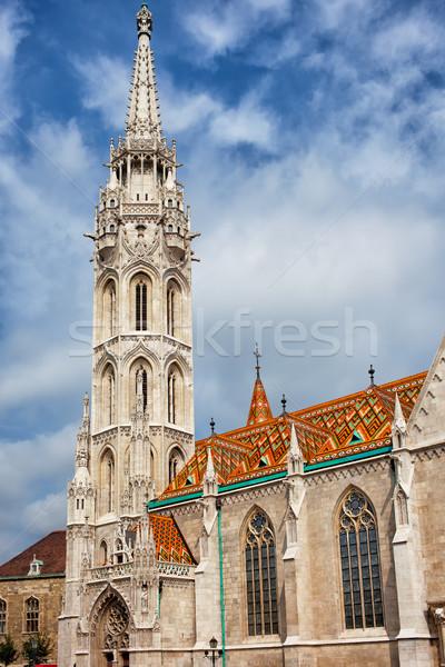 Matthias Church in Budapest Stock photo © rognar