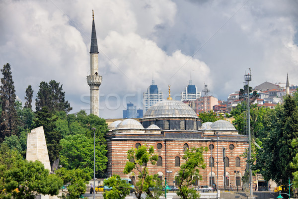 Sinan Pasha Mosque in Istanbul Stock photo © rognar