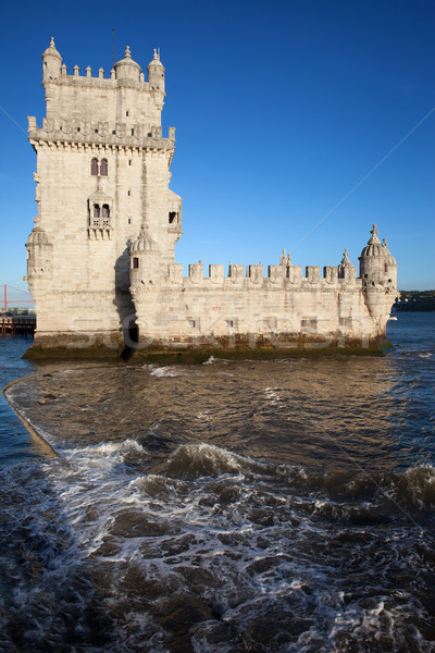 Torre de Belem in Lisbon Stock photo © rognar