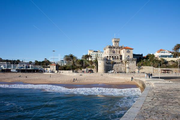 Resort città Portogallo casa costruzione città Foto d'archivio © rognar