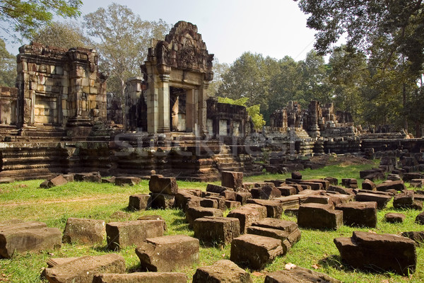 Ancient Khmer Architecture Stock photo © rognar