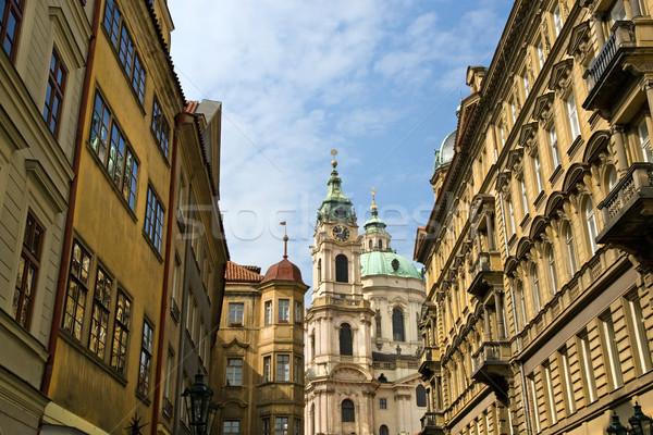 Prague Architecture Stock photo © rognar