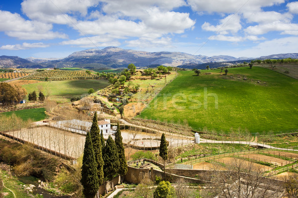 Andalusia Countryside Landscape Stock photo © rognar