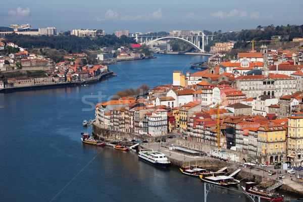 City of Oporto in Portugal Stock photo © rognar