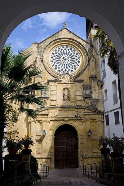 Saint Paul Church in Cordoba Stock photo © rognar