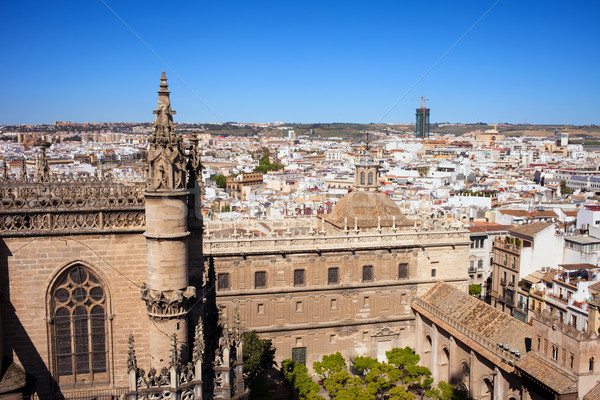 Seville Cityscape Stock photo © rognar